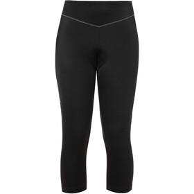VAUDE Active Pantalones 3/4 Mujer, black uni